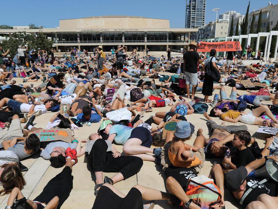 Tel Aviv, Israele, 27 settembre 2019 (EPA/ABIR SULTAN)