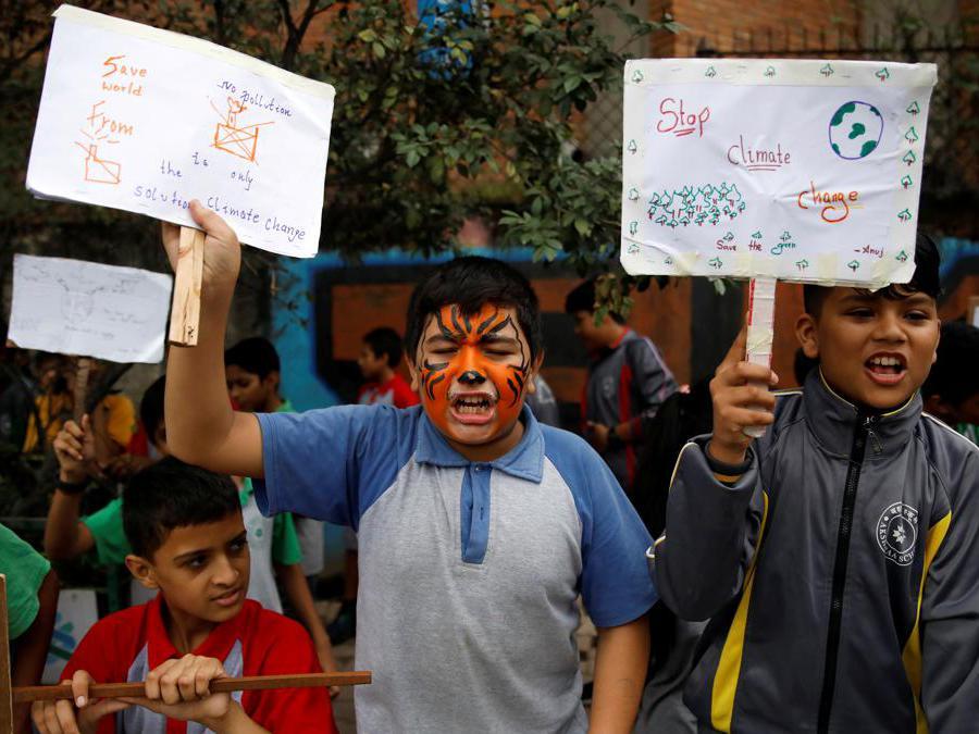 Kathmandu, Nepal, 27 Settembre 2019 (REUTERS/Navesh Chitrakar)