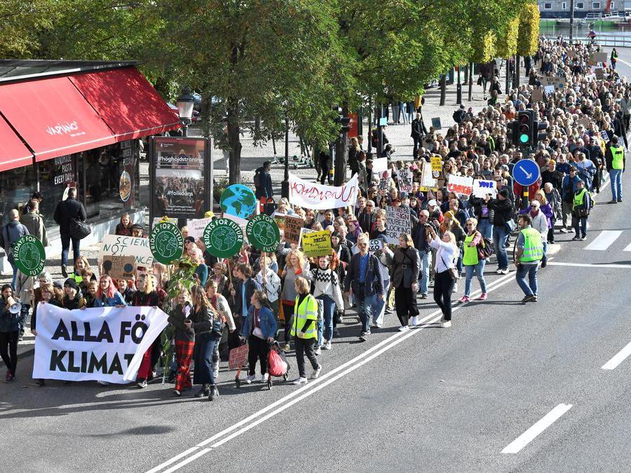 Stoccolma, Svezia, 27 settembre  2019 (TT News Agency/Claudio Bresciani via REUTERS)