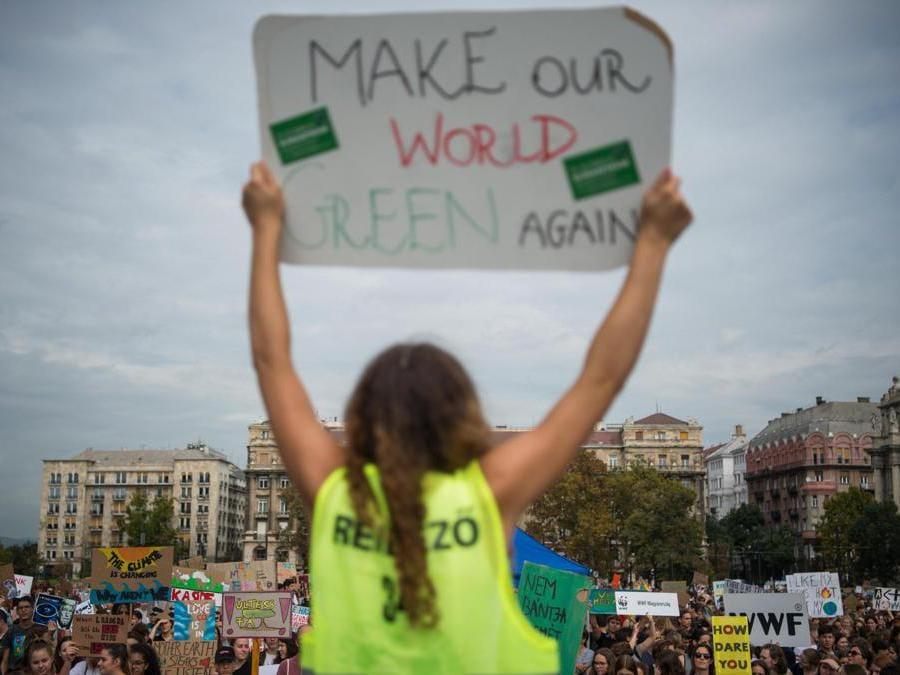 Budapest, Ungheria, 27 settembre 2019 (EPA/Zoltan Balogh)