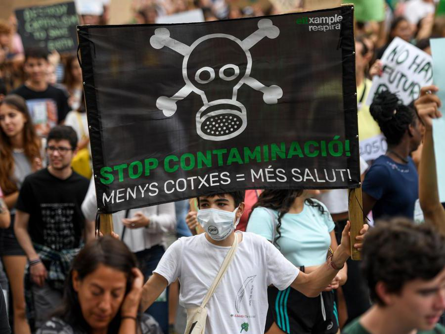 Barcellona, Spagna, 27 Settembre 2019 (Photo by Josep LAGO / AFP)