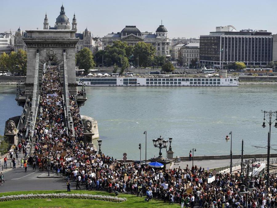 Budapest, Ungheria, 27 settembre 2019   (EPA/MARTON MONUS)