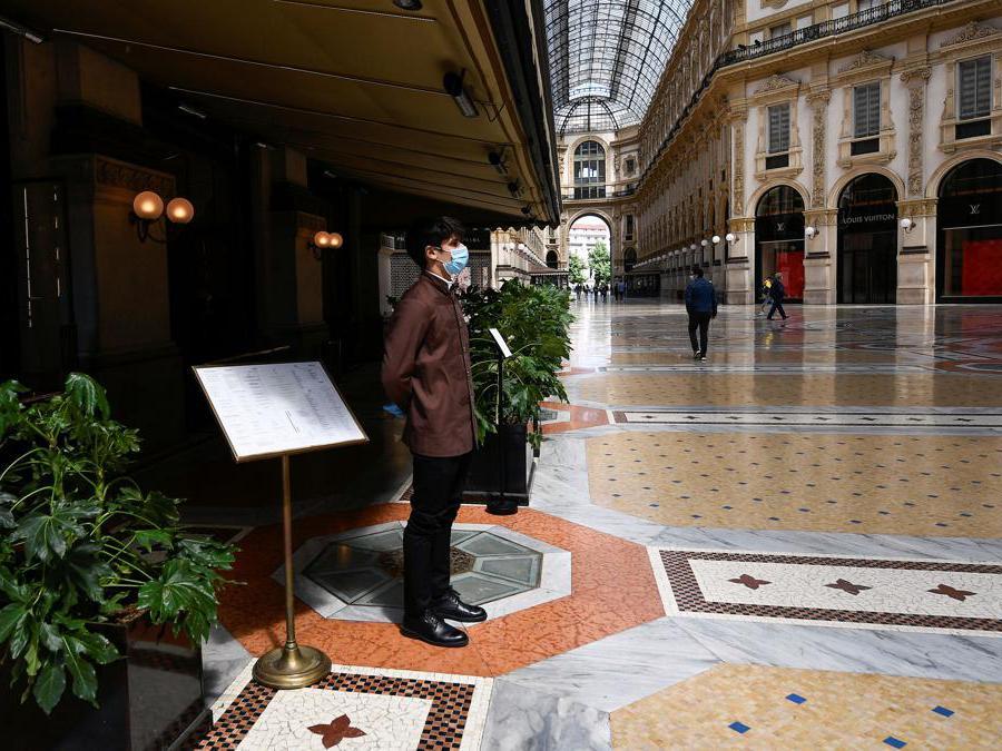 Galleria Vittorio Emanuele II, Milano (REUTERS/Flavio Lo Scalzo)