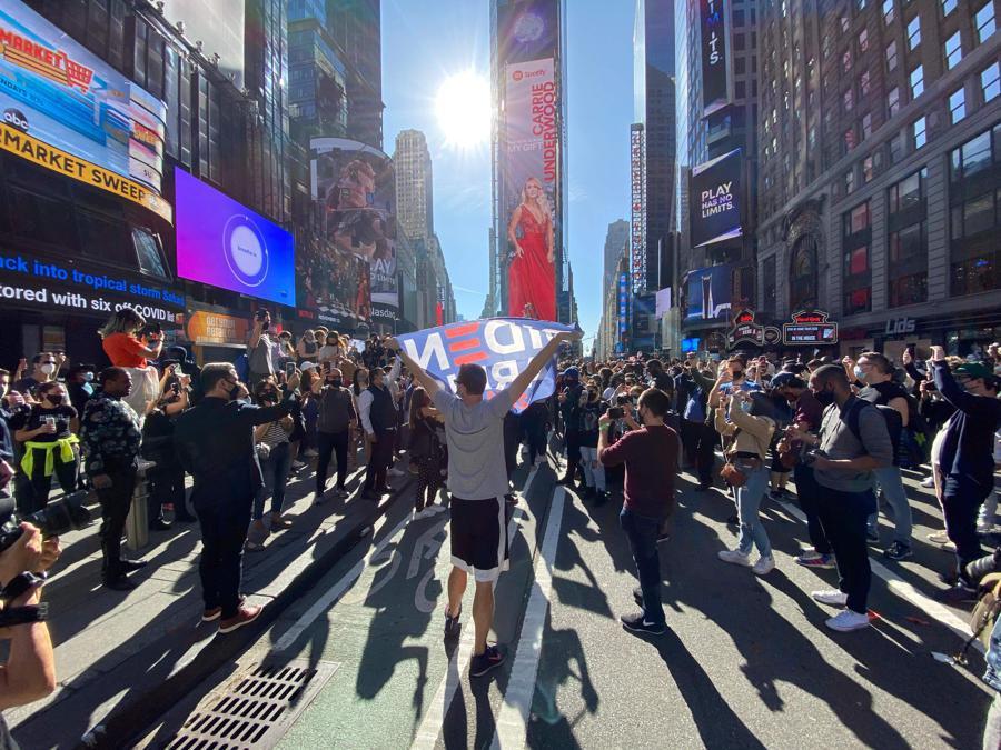 New York . (Photo by Kena Betancur / AFP)