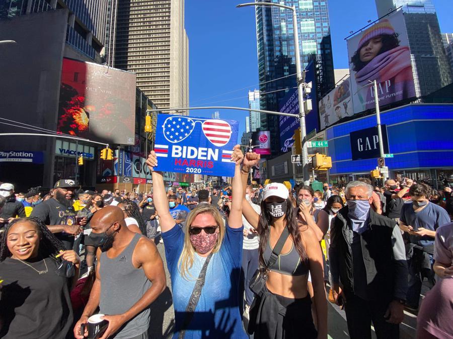 New York. (Photo by Kena Betancur / AFP)