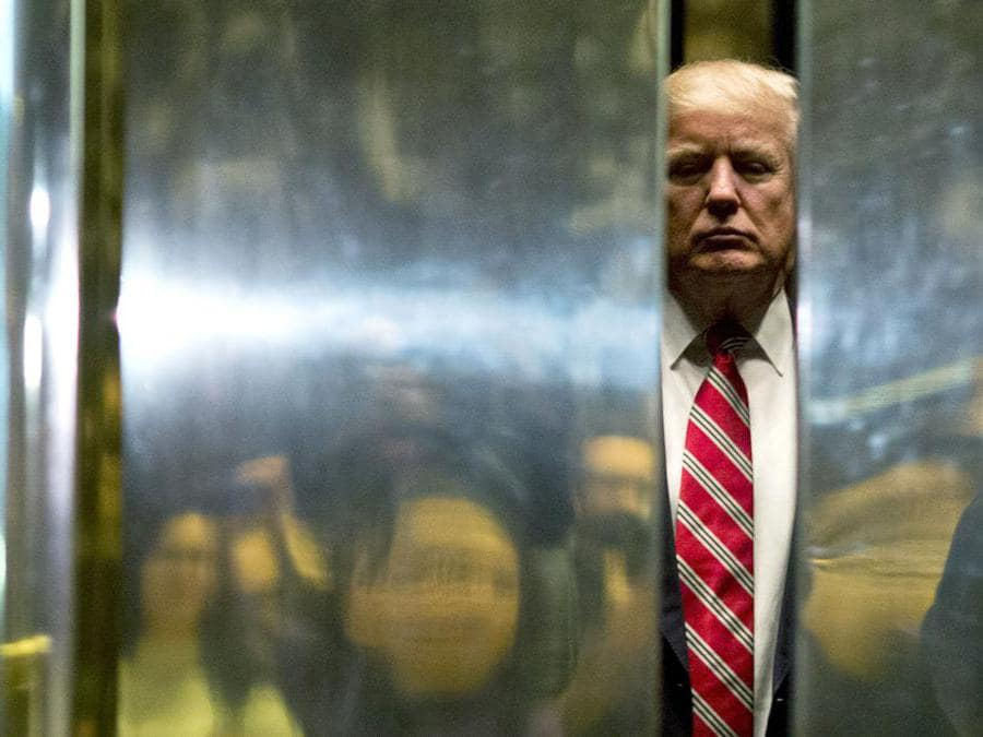 Donald Trump. (Photo by DOMINICK REUTER / AFP)