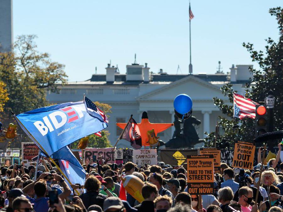 Washington, DC. (Photo by Eric BARADAT / AFP)