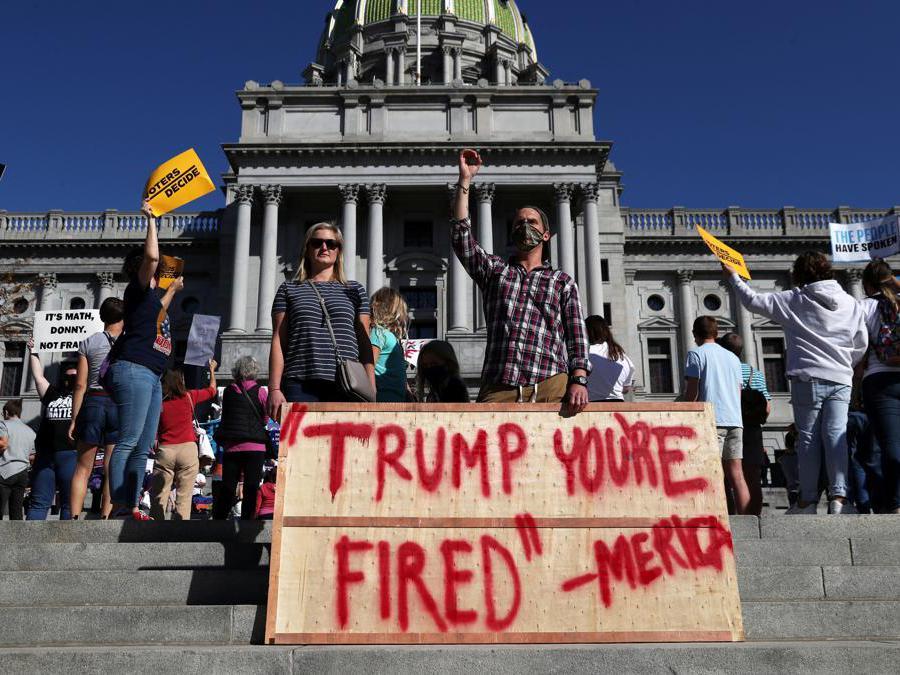 Harrisburg, Pennsylvania. REUTERS/Leah Millis