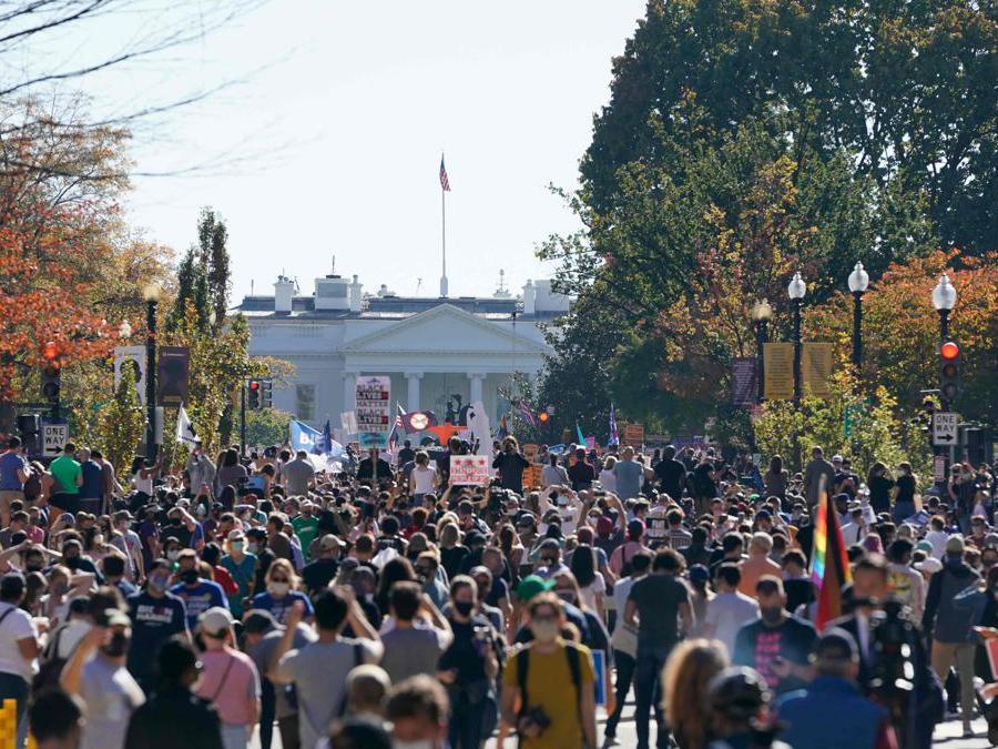 Washington, DC. (Photo by Alex Edelman / AFP)