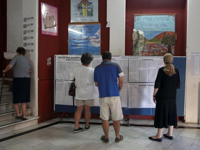Elezioni in Grecia, urne aperte