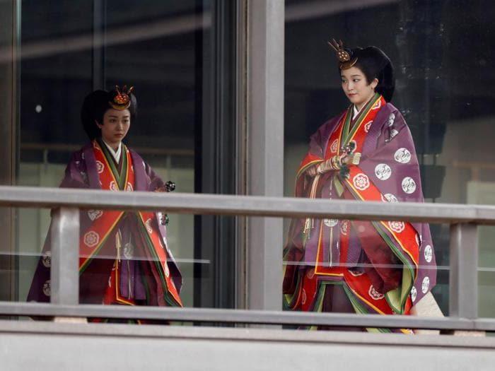 Giappone, la cerimonia di intronizzazione del nuovo imperatore Naruhito
