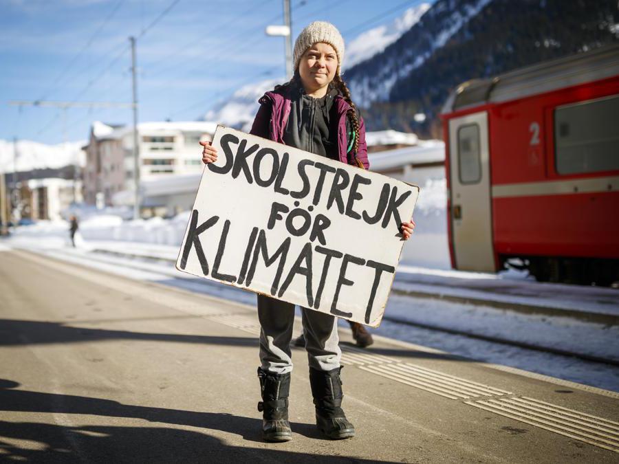 Greta Thunberg (Ap/Valentin Flauraud/Keystone)