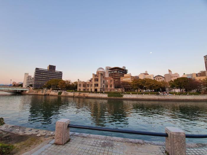 Hiroshima, il Peace memorial park e l'Atomic Dome