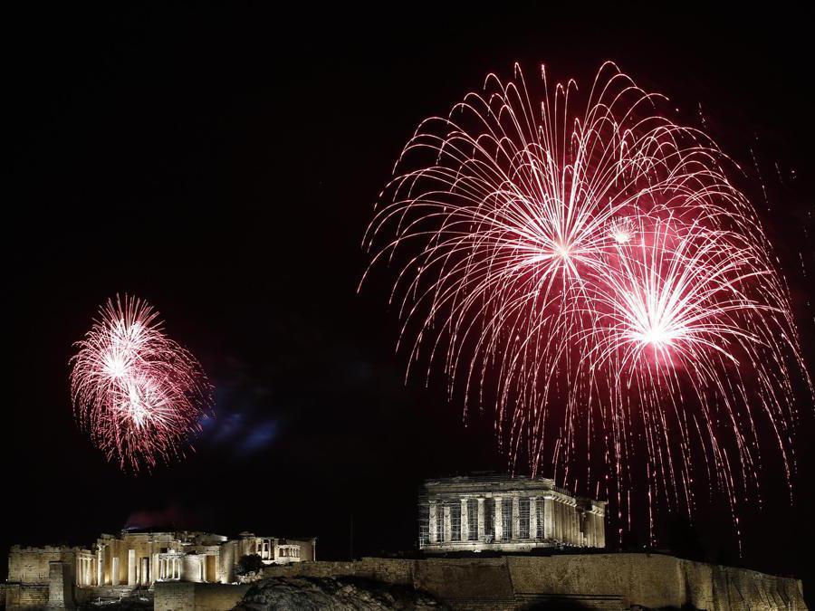 Atene. (Epa / Yannis Kolesidis)