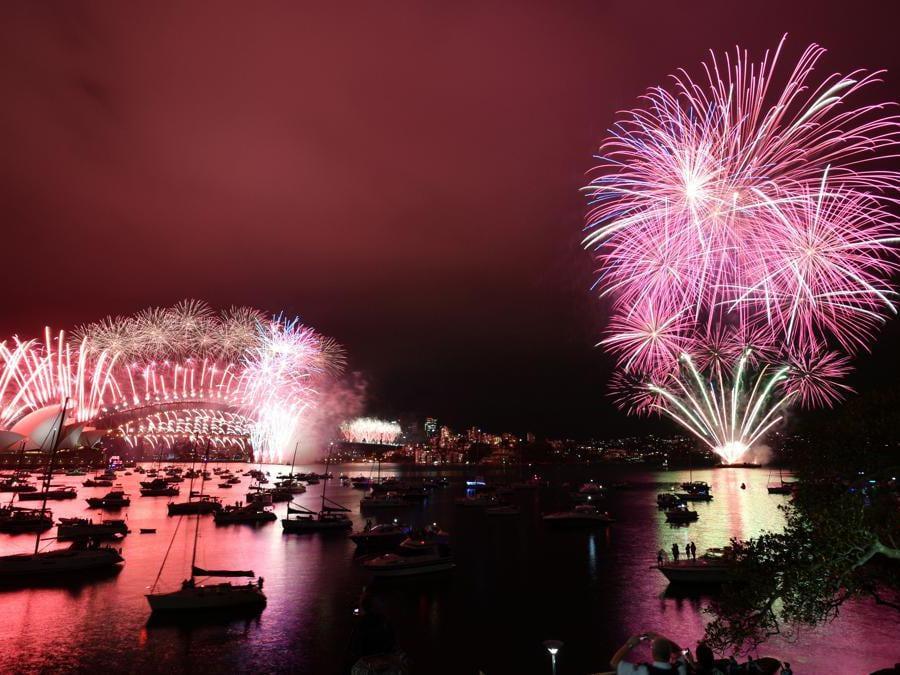 Sydney Opera House e Sydney Harbour Bridge . AAP Image for NSW Government/Mick Tsikas/Handout via REUTERS