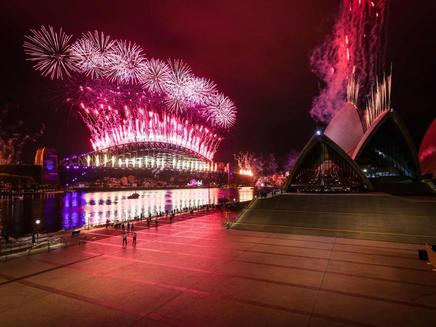 Sydney Opera House . (Photo by DAVID GRAY / AFP)