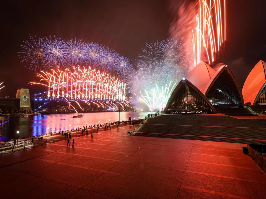 Sydney Opera House  (Photo by DAVID GRAY / AFP)