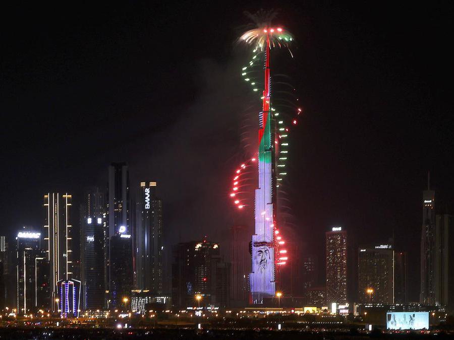 Dubai. (Photo by Karim Sahib / AFP)