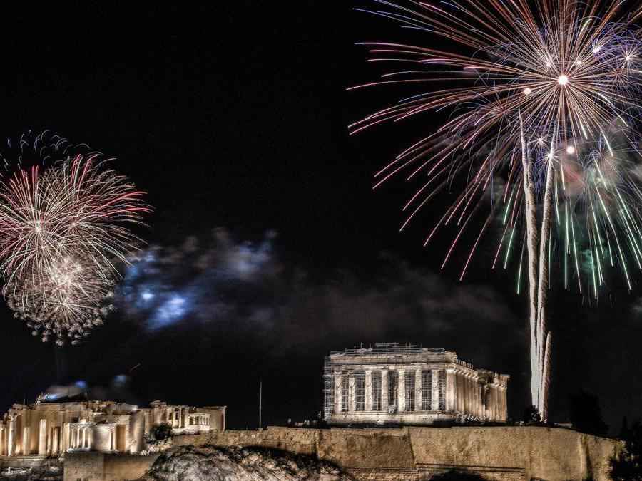 Atene. (Photo by Louisa Gouliamaki / Afp)