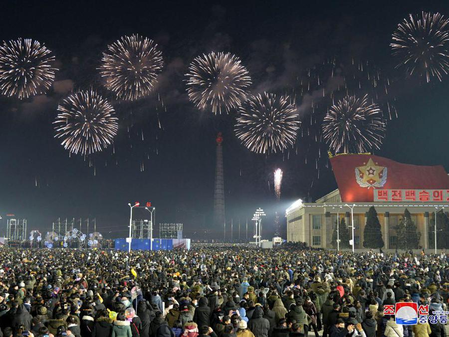 Pyongyang. (North Korea's official Korean Central News Agency (KCNA). (Photo by STR / KCNA VIA KNS / AFP)