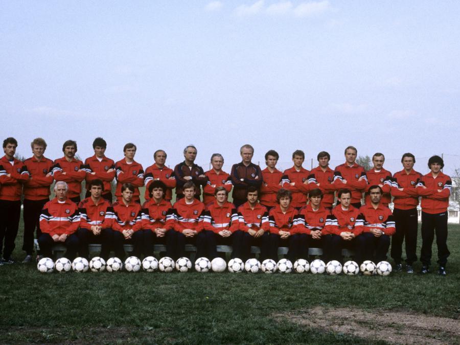 La nazionale sovietica del 1986