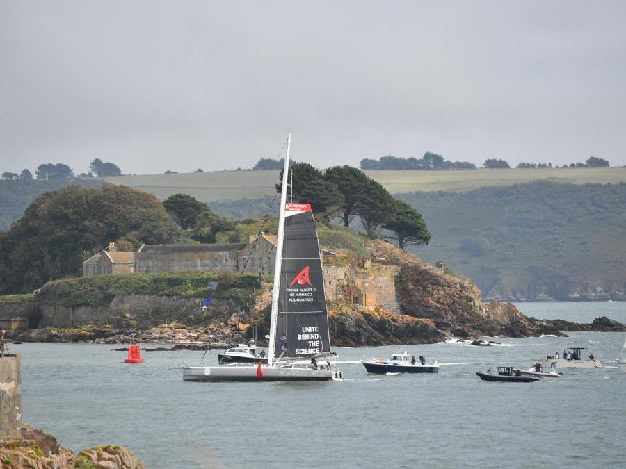 La barca a vela Malizia II.(AP Photo)