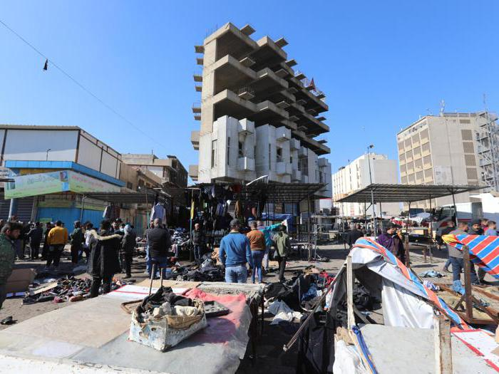 Iraq, attentato suicida nel centro di Baghadad