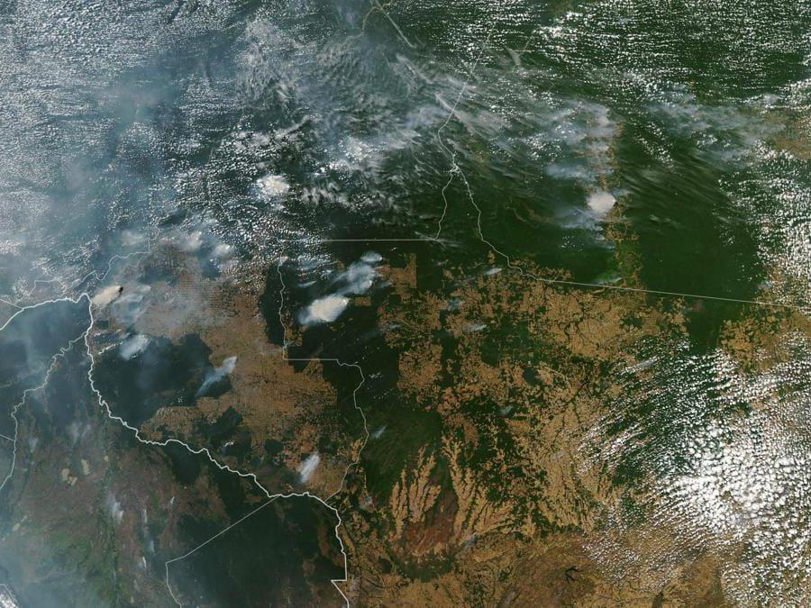 NASA Earth Observatory / AFP