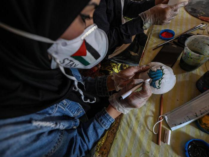 L'ombra del coronavirus su Gaza