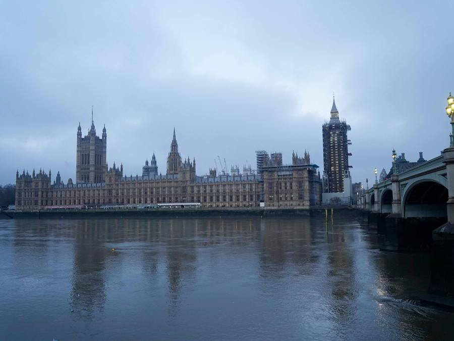 Il Parlamento Britannico  (Niklas Halle'n/Afp)