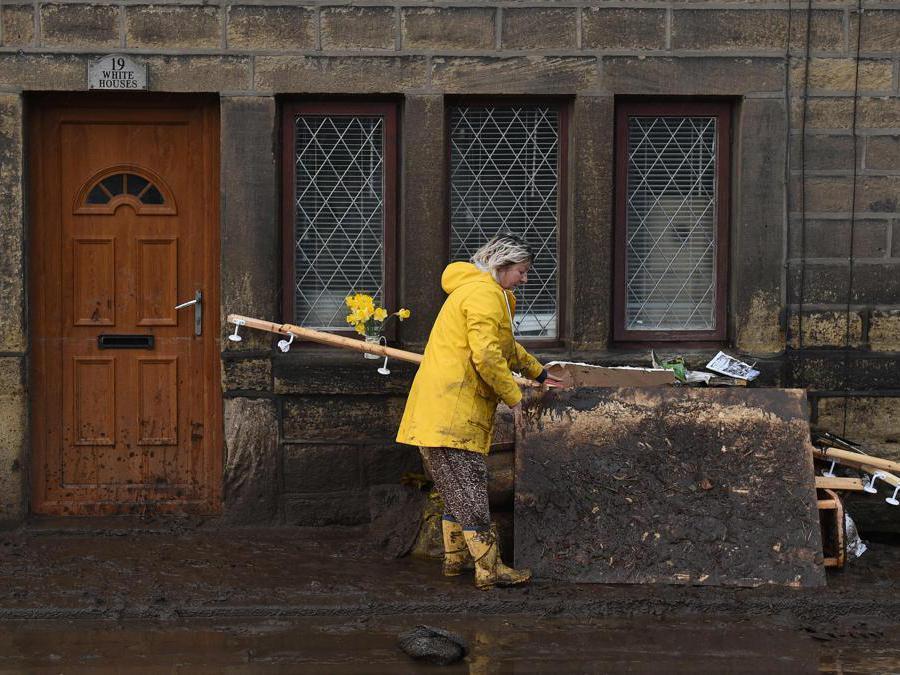 Mytholmroyd, Gran Bretagna.  (Photo by Oli Scarff / AFP)