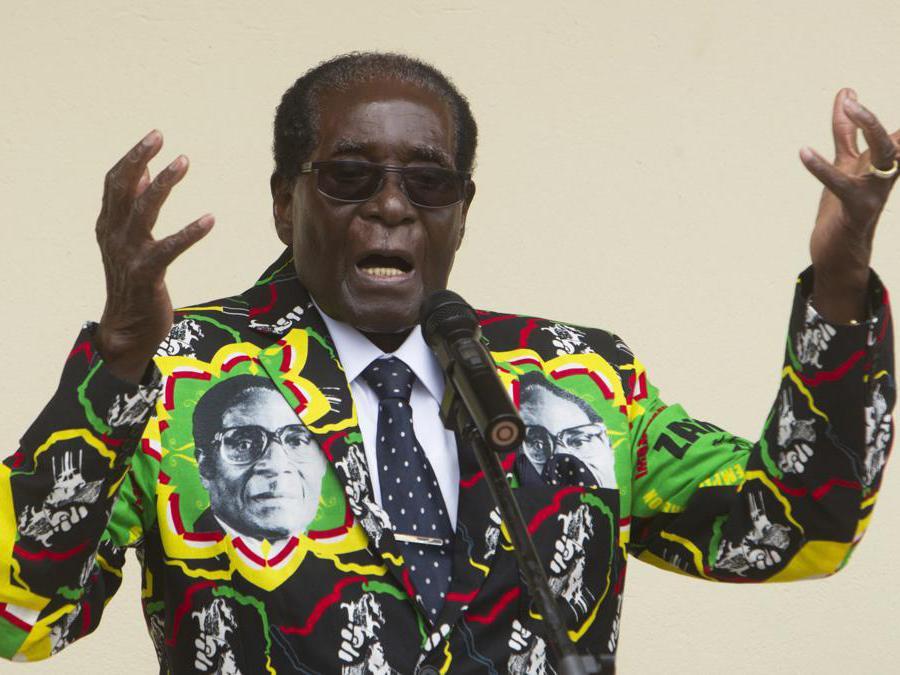 17 dicembre 2016, il presidente dello Zimbabwe Robert Mugabe. (AP Photo/Tsvangirayi Mukwazhi, File)