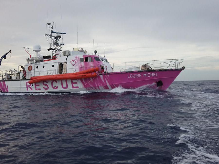 MV Louise Michel/REUTERS TV