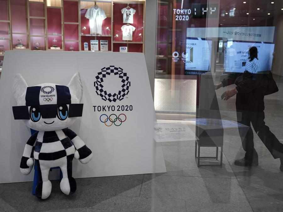 Miraitowa, il robot-mascotte di Tokyo 2020  (AP Photo/Jae C. Hong, File)