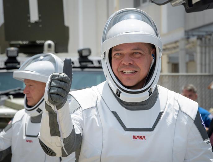 La partenza del razzo di Musk