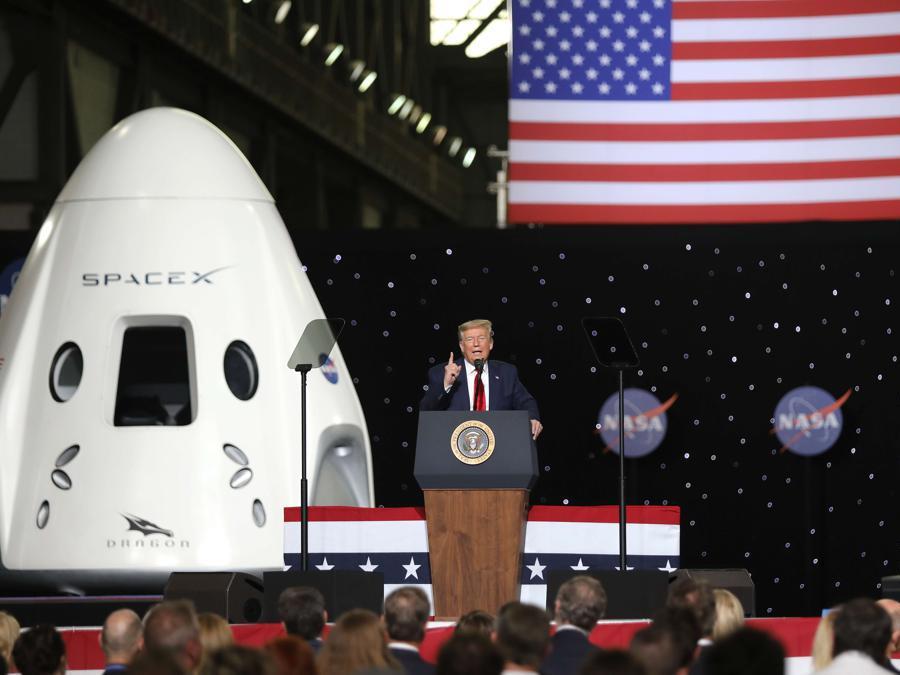 Il presidente degli Stati Uniti, Donald Trump. (Joe Raedle/Getty Images/AFP)