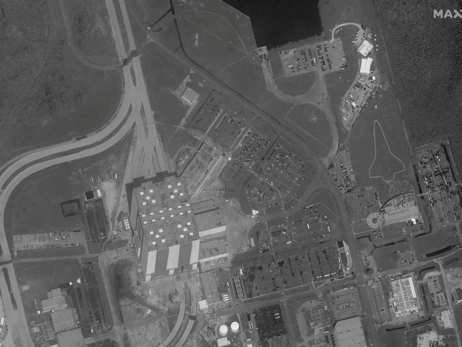 (Immagine satellitare © 2020 Maxar Technologies / via Reuters)