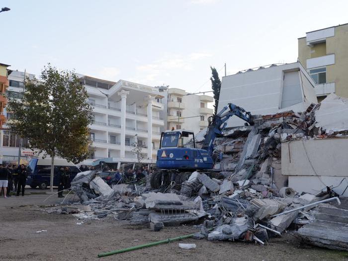 Terremoto in Albania. Morti e feriti