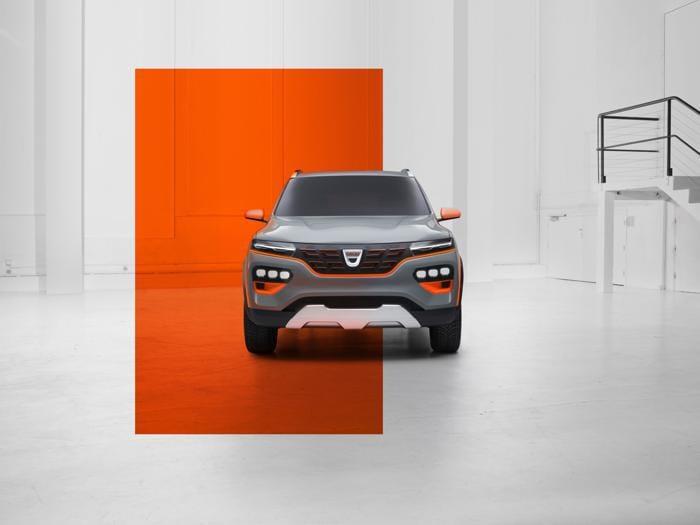 Dacia Spring, le foto del prototipo di auto elettrica per tutti