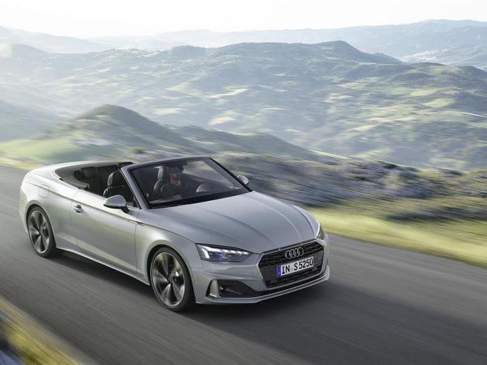 Audi A5, ecco le nuove Coupè, Cabriolet e Sportback