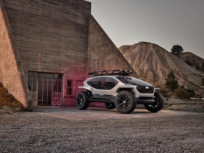 Audi Ai:Trial, il fuoristrada elettrico dei quattro anelli
