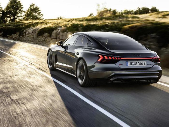 Audi e-tron Gt, le foto della famiglia delle super-sportive elettriche