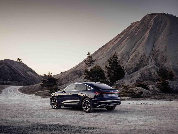 Audi e-tron Sportback, il suv coupé elettrico