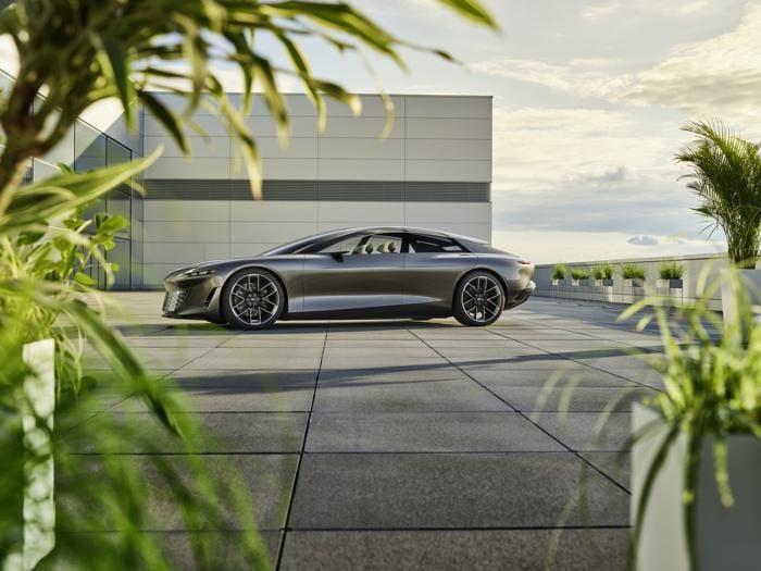 Audi Grandsphere, ecco l'auto del futuro