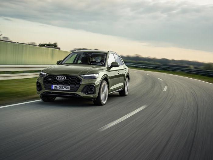 Audi Q5 restyling, tutte le foto del rinnovato suv