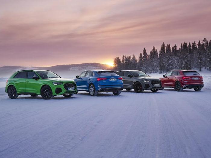 Audi RS Q3 e RS Q3 Sportback, tutte le foto
