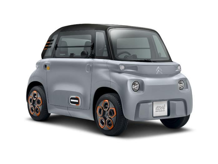 Citroën Ami, la microcar elettrica per tutti