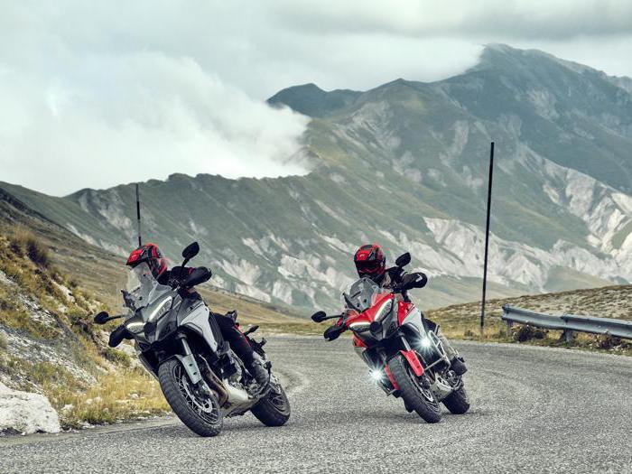 Ducati Multistrada V4, tutte le foto della nuova moto di Borgo Panigale