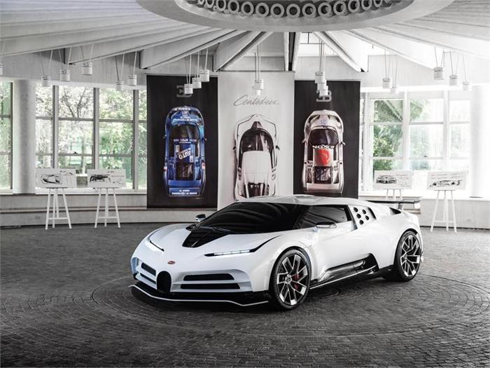 Ecco la Bugatti Centodieci, hypercar da 9 milioni
