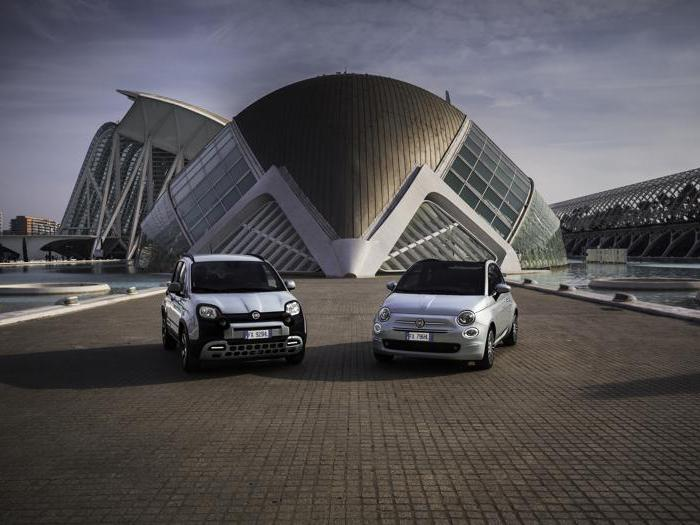 Fiat Panda e 500 Hybrid, le foto delle citycar mild hybrid